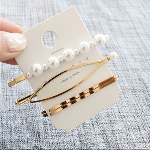 Accessories - Trendy 2019 3pc. Hair Clips